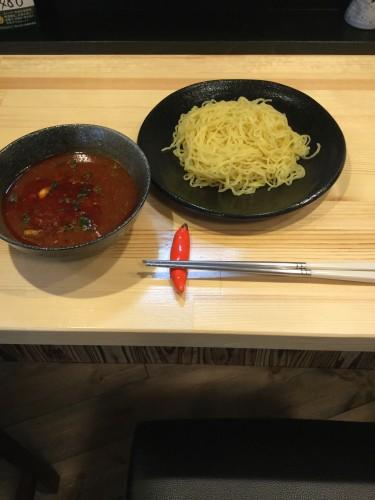 〆のつけ麺