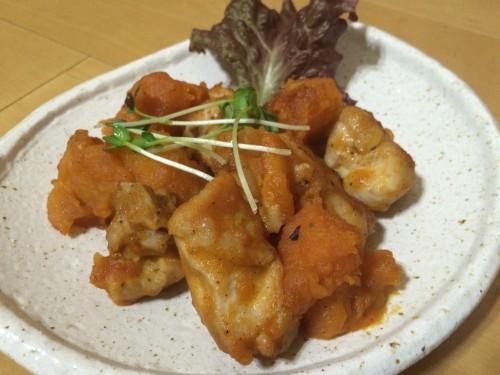 鶏肉ジャガイモ炒め